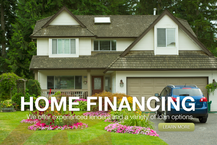 Home financing we offer experienced lenders and a variety of loan options