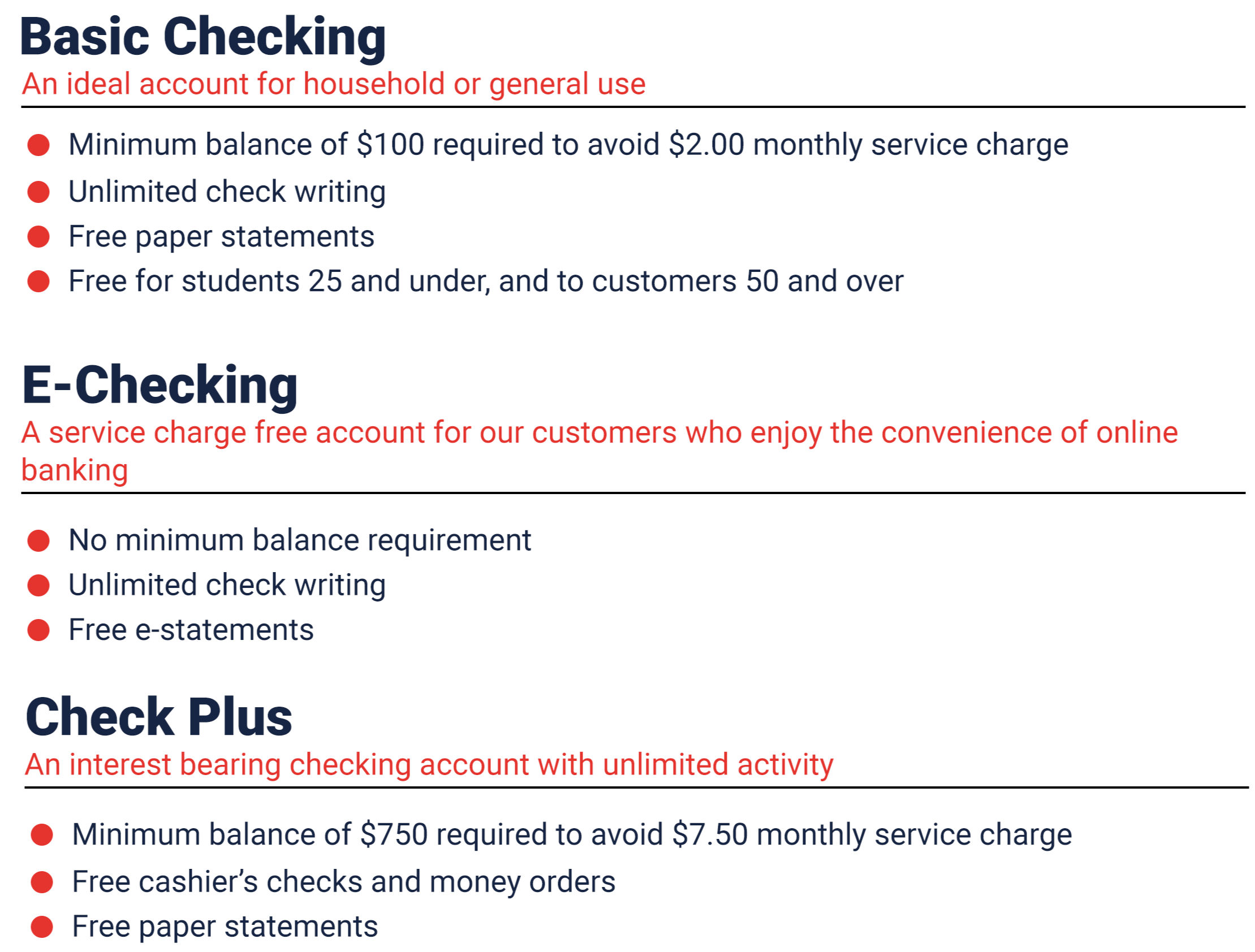 personal checking basic electronic check plus free statements online electric banking